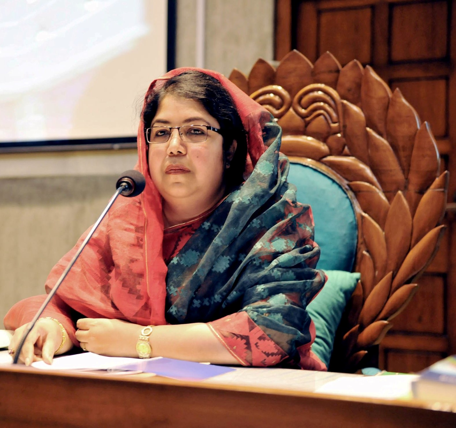 Dr. Shirin Sharmin Chaudhury, MP