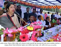 Hon\'ble Speaker Visited Gaibandha & 24 Rangpur-06, Pirganj on 14-15 March 2018