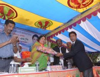 Hon\'ble Speaker Visited 24 Rangpur-06, Pirganj on 17.04.2016